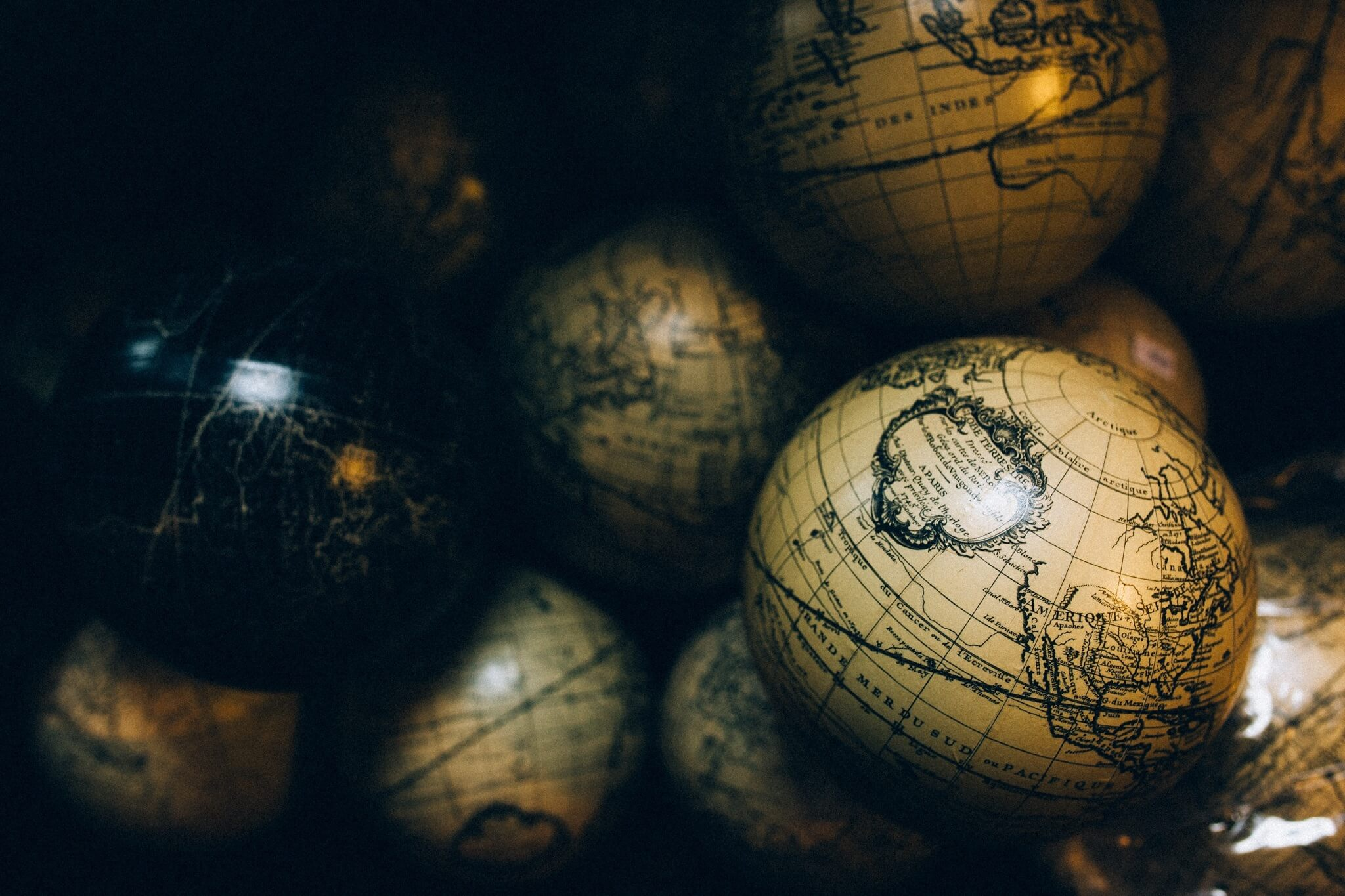 Ross Pepper World Globes