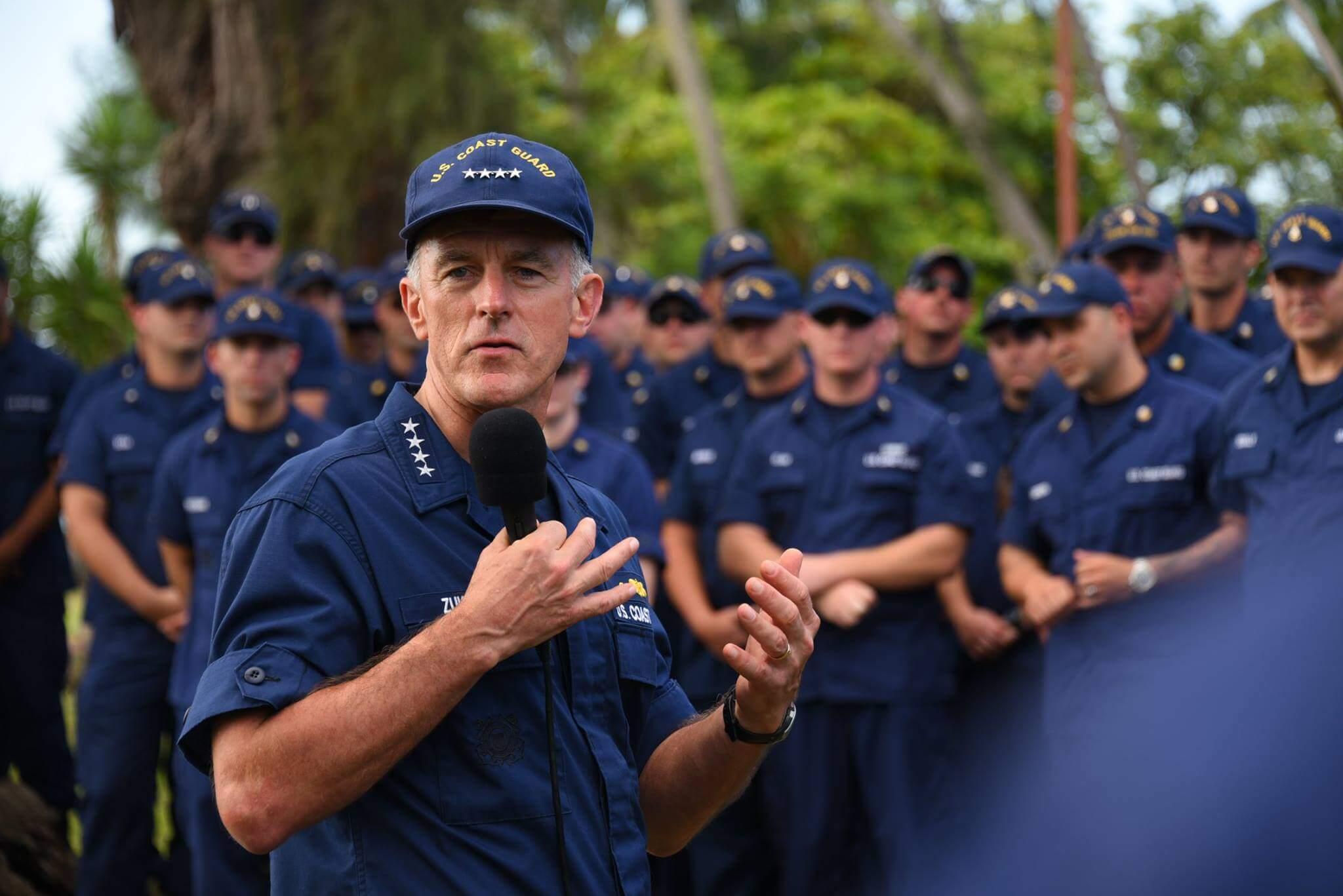 Ross Pepper Team US Coast Guard